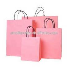 Sweet pink paper bag