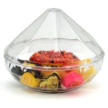 PP/PS Plastic Bowl Disposable Bowl Diamond Shaped Cup