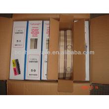22mm polypropylene eyelet curtain tape , curtain accessory