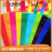 bolso de compras colorido de la tela no tejida respetuoso del medio ambiente biodegradable