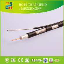 Hot Sale Best Price Rg11 Coaxial Cable/Rg11 with Messenger