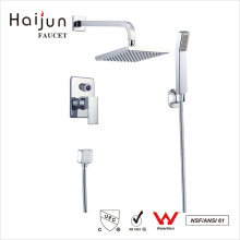 Grifos termostáticos de la ducha del cuarto de baño contemporáneo caliente de Haijun