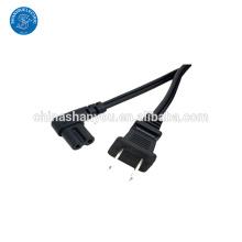Benutzerdefinierte abgewinkelt IEC320 C7 Stecker Netzkabel mit niedrigem Preis