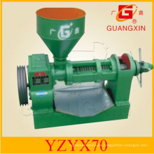 Máquina horizontal de la prensa de aceite 40kgs / Hr pequeña prensa del aceite (YZYX70)