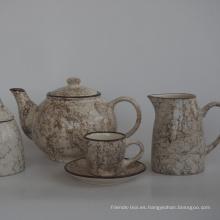 tetera té taza taza juego de té