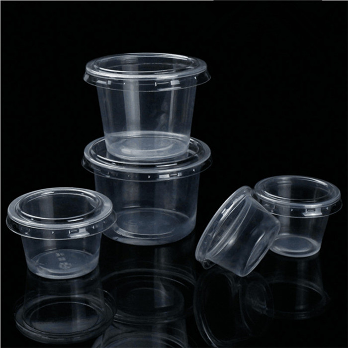 Clear Sauce Container