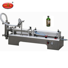 Hot sale high quality manual piston liquid filling machine with two filling heads