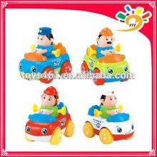 Mini Cartoon Friction Car Toys For Kids Mini Plastic Car
