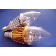Различные виды дизайна светодиодных свечей