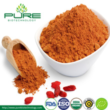 Certifierat organiskt Goji Berry Extract Powder
