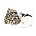 Venda quente InteressanteBola Jogar Cardboard Cat Scratcher Pet Toy para Gato Coçar CS-2009