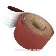 OEM jumbo roll High cotton sand cloth roll emery cloth roll