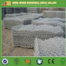 Al-Zn Alloy Wire Gabion à mailles hexagonales pour Stone Cage