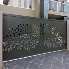 Black Metal Decorative Panels