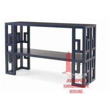 Table de console de bloc de fer