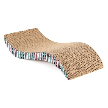 Environment-friendly Cat Scratcher Corrugated Cardboard