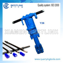Y19A Hand Held Rock Drilling Machine for Drilling Stones