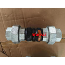 Threaded End Double Sphere Rubber Joint