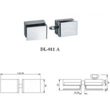 Stainless steel door lock for shower door