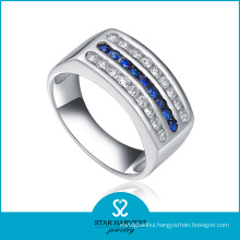 Classical Blue Color 925 Silver Jewelry Ring (R-0128)
