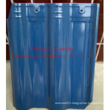Hight Quality Blues Colors Ceramic Roof Tiles for Sale (300*400)
