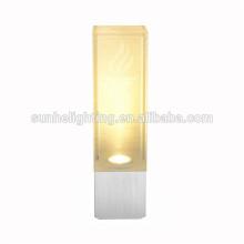 12v DC 2 * 1w LED Aluminium Wandmontage Lampe führte Caravan Licht RV Dome Licht