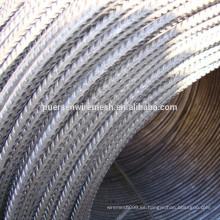 Longitud de 12m y ASTM Standard CRB550 Barras de refuerzo