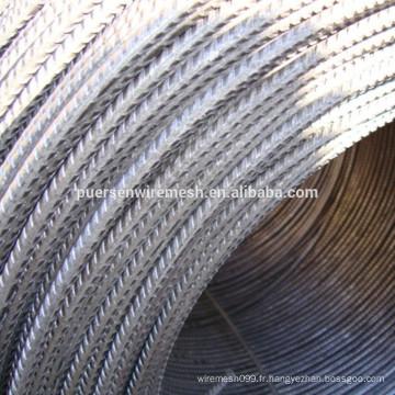 Barres de renfort de longueur 12 m et ASTM Standard CRB550