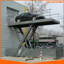 Elektrischer Scherenhebebühne für Parkplatz
