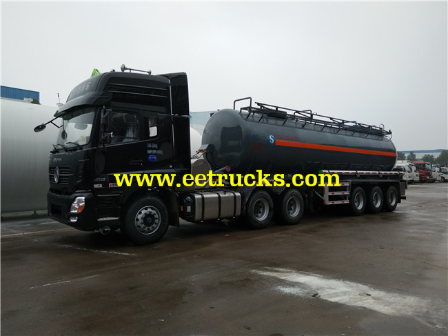 3 Axles Hydrochloric Acid Tank Trailers
