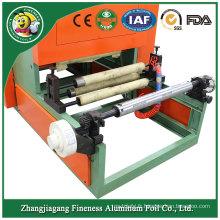Nouveau style moins cher des lignes de machines de rembobinage de papier d'aluminium