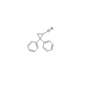 2,2-Diphenylcyclopropanecarbonitrile, 98% CAS 30932-41-3