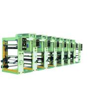 Machine d'impression à haute vitesse en rotogravure à plusieurs couleurs