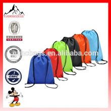 6 Pack Drawstring Mochila Saco De Nylon Dobrar Ombro Tote Sack Sacos De Embalagem 6 Cores Diferentes (ES-H052)
