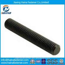 Acero al carbono Acme perno negro M10 Varilla roscada