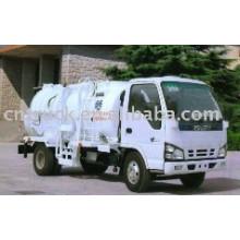 Camión de recogida de residuos de cocina