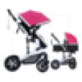 Новая детская коляска для малышей с лучшим качеством, одобренная CE роскошная коляска для колясок, резиновая колесная разностная тележка