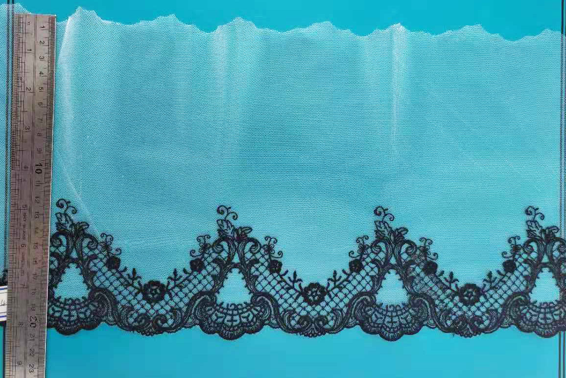 Net lace fabric