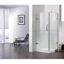 Porte de douche d'angle en verre RS-S080