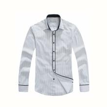 Fashion Style Men′s Long Sleeves Fashion Slim Fit Dress Shirt