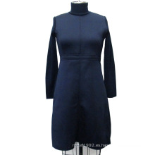 Jersey de cuello alto de manga larga calentada
