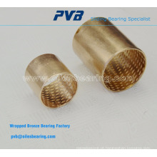 Bucha de mancal plana Bronze PAP4025BR cilíndrica