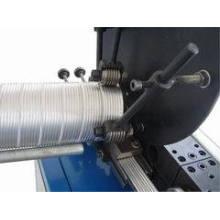 Machine de conduit flexible en aluminium en spirale (tuyau en aluminium)