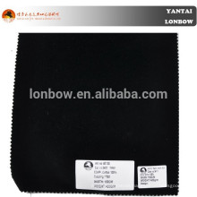 Cotton material artificial faux fake fur coat fabric