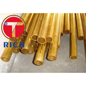 ASTM B111 Seamless Copper Dan Copper-Alloy Steel Tube