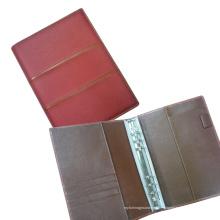 PU carpeta carpetas de archivos organizador portátil caso (EA5-003)