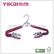 EVA пенопластовые металлические вешалки с металлическими клипсами и компактным крюком
