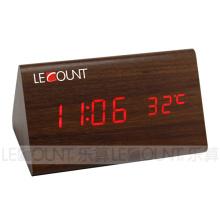 Réveil à grain en bois (CL131A)