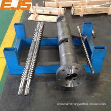 38CrMoAlA nitrided plastic extrusion screw and barrel