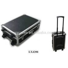 strong aluminum hard luggage wholesales with 2 wheels